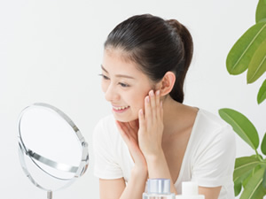 リラクゼーション+お肌の改善